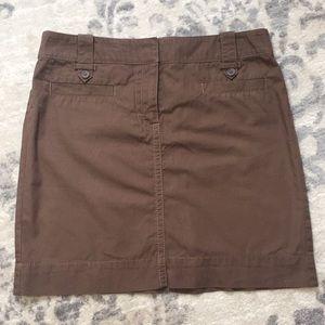 Ann Taylor LOFT light brown skirt size 6